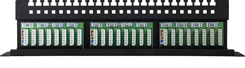 "24 port 19"" patch panel"