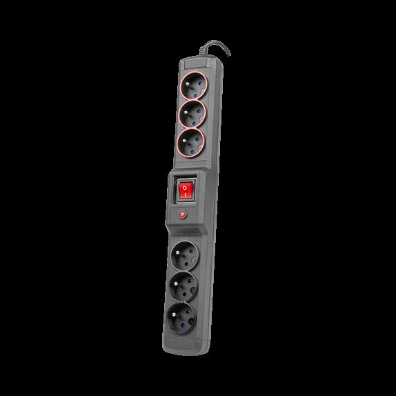 2,5m multi M3+3 filtr sieciowy