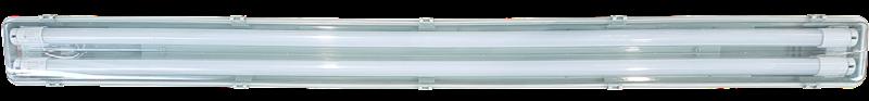OPRAWA OŚW OLSA 2*120 CM + 2 TUBY LED