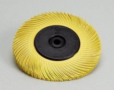 3MBB-ZB Szczotka 152x11x25 P80 Typ C żółta
