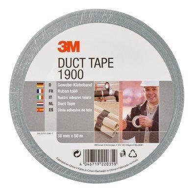 3M1900 Taśma naprawcza Duck Tape 50mmx50m srebrna