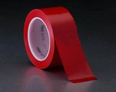 3M471 Taśma winylowa 50mmx33m czerwona