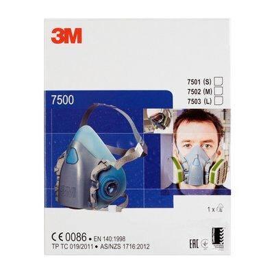 3M7502 Półmaska część twarzowa r.M