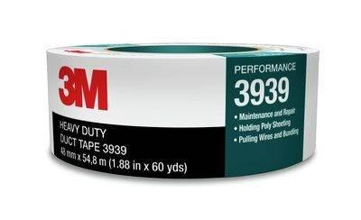 3M3939 Taśma typu duct 3939 srebrna, 48 mm 54.8 m