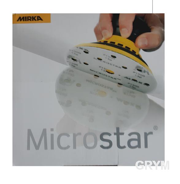 Microstar 150mm P1200 15-otworów