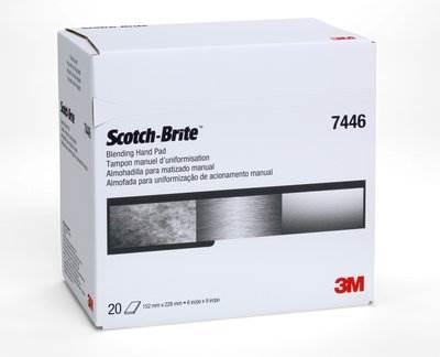 3M7446 Włóknina ścierna 152x228 SMED