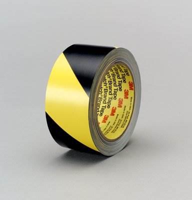3M5702 Taśma winylowa czar/żółta