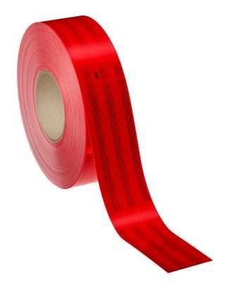 3M983-72 Taśma konturowa 55mmx50m czerwona