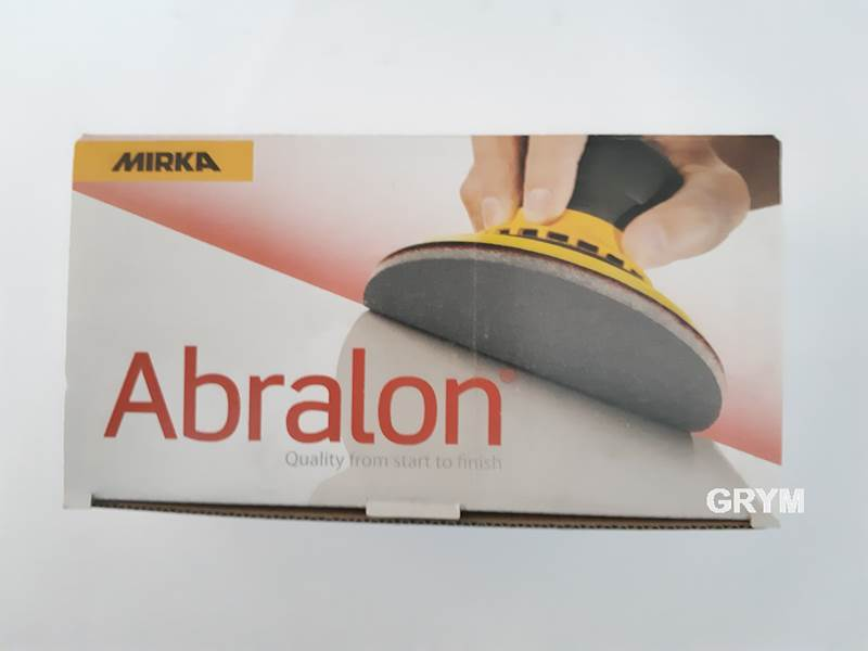 MIRKA Abralon krążek na gąbce 77mm P500