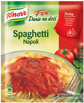 FIX DO SPAGH.NAPOLI 45G KNORR