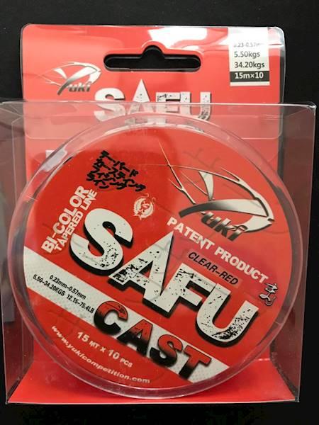 Przypon koniczny SAFU 0,23-0,57 mm  duo\color