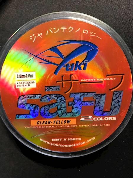 Przypon koniczny SAFU 0,18-0,57 mm duo color