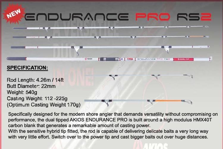 AKIOS Endurance Pro RS2 426cm NOWOŚĆ