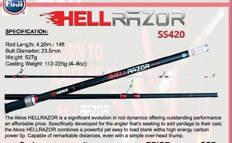 AKIOS HellRazor 420cm SS
