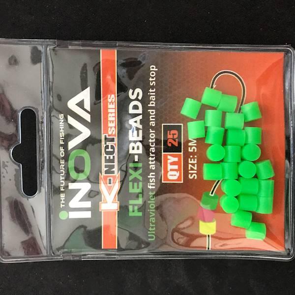 INOVA miękki stoper zielony 5mm 25szt op