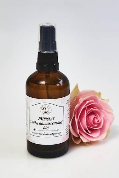 BIO hydrolat z róży damasceńskiej