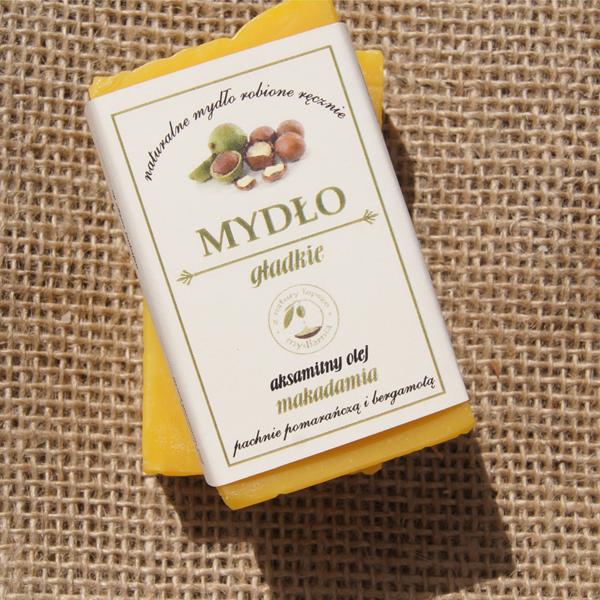 MYDŁO GŁADKIE aksamitny olej makadamia