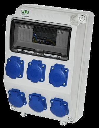PRYMA 9D 6x230V IP54