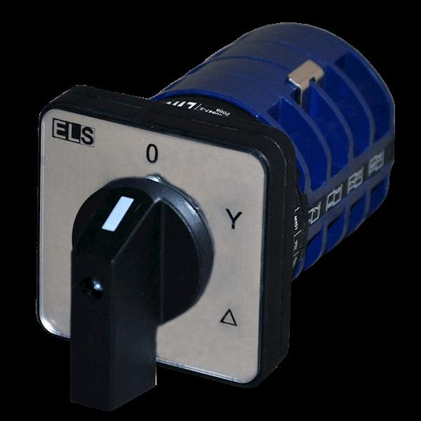 Łącznik krzywkowy 0-Y-D 40A 3P tablicowy IP65