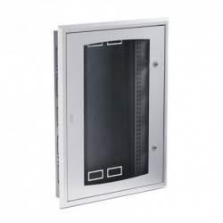 Szafa metalowa drzwi szklane 96 mod P/T komplet IP40
