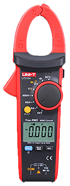 Miernik UT216A cęgowy TrueRMS NCV + poj
