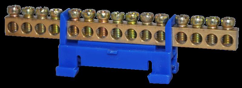 Listwa zaciskowa ochronna 15x10mm2 niebieska