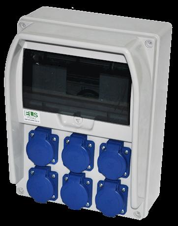 PRYMA 9M 6x230V IP54