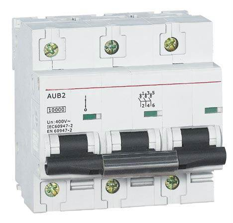 Rozłącznik izolacyjny na szynę SINTEC AUB2 3P 125A 10kA