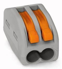 Złączka instalacyjna z dźwigniami ZL2 0,75mm-2,5mm