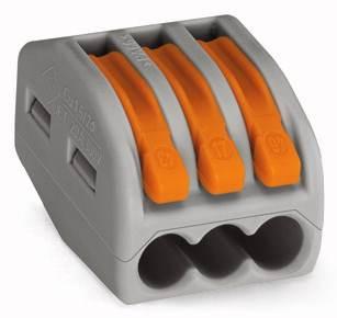 Złączka instalacyjna z dźwigniami ZL3 0,75mm-2,5mm