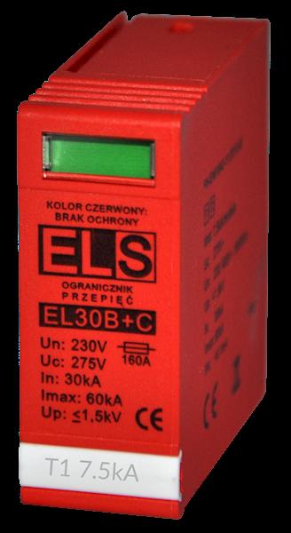 Wkładka ELS do ochronnika typu 1+2 ( B+C) 7,5kA