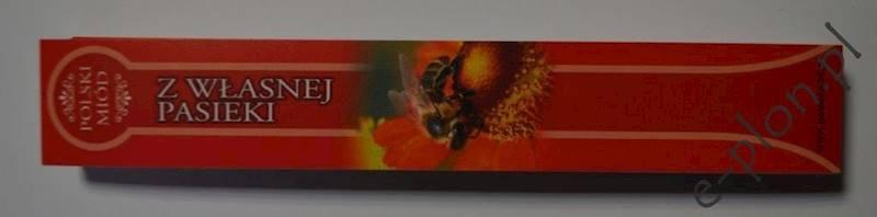 Etykieta banderola 22x142 mm PROSTA /BA2