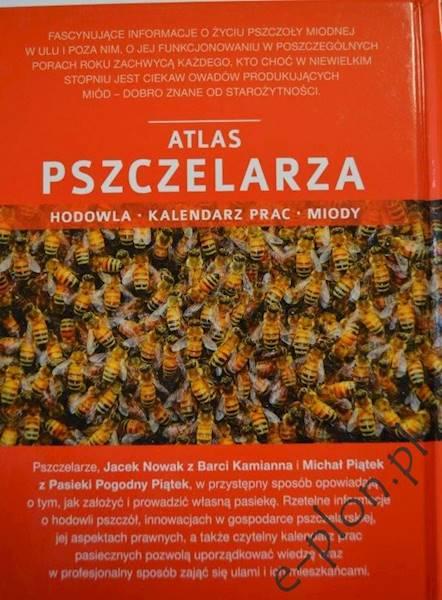 """Książka """"Atlas Pszczelarza"""" / K199"""