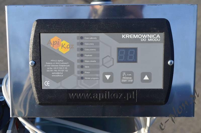 Kremownica do miodu 200L fi 600, Apikoz - KR004