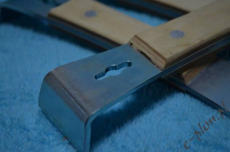 Dłuto pasieczne w oprawie drewnianej 185 mm