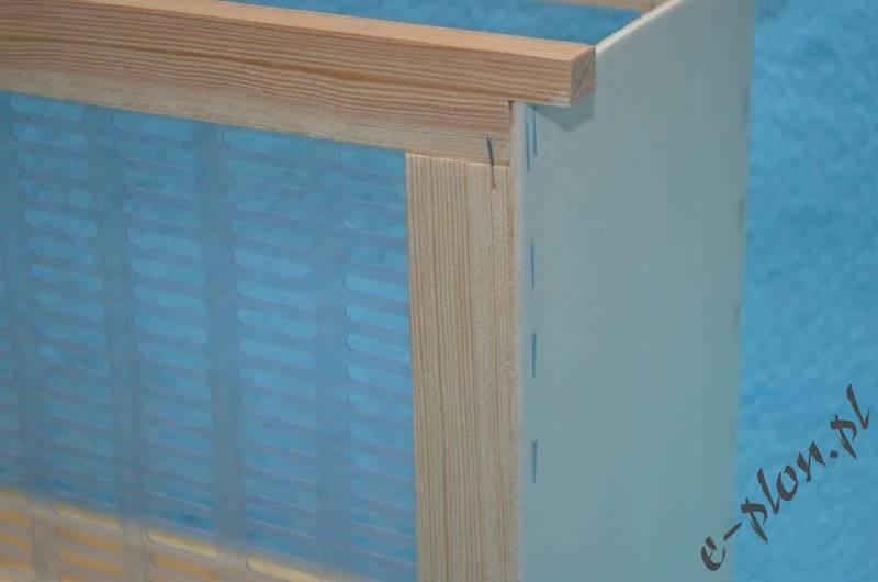 Izolator drewno+winidur warsz./ zw. 3-ramkowy