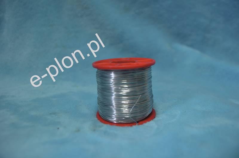 Drut do węzy 0,4 mm ocynk - 250g /300m/
