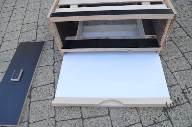Dennica wielk. 12R wys. z siatką+szuflada na osyp