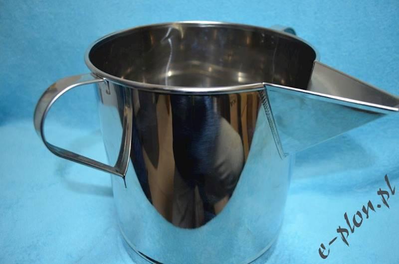 Pojemnik kwasoodporny na miód z lejkiem 10 litrów