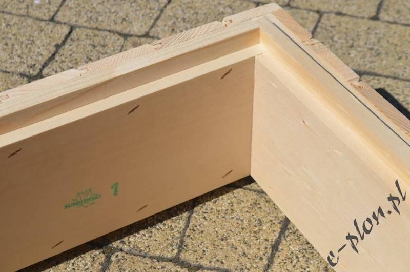 Korpus 1/2 wlkp. 12R - drewniany / 1134