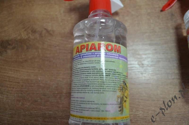 Apiarom 250 ml - do dezynfekcji i aromatyzacji uli