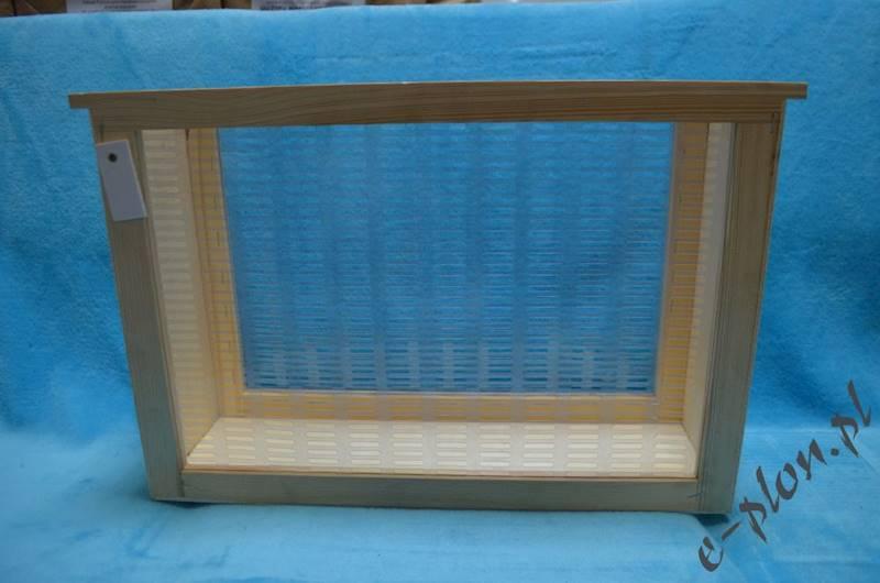 Izolator drewno+winidur Dadant 3-ramkowy