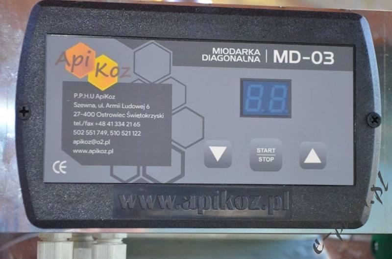 Miodarka diagonalna MD03 r/e Apikoz