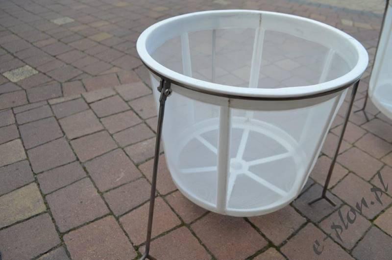 Sito cylindryczne plastik bez stojaka średnie