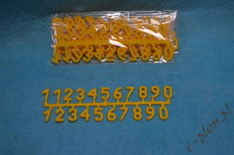 Numerki na ule ( Index: 3130)