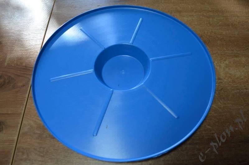 Podkarm. powałkowa okrągła plastik 4 L - pokrywka