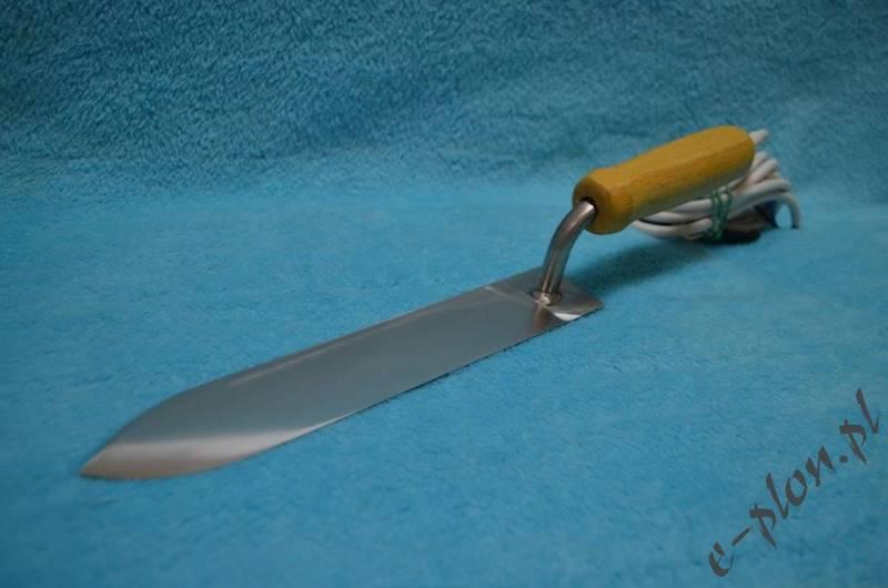 Nóż elektryczny do odsklepiania nierdzewny 12V