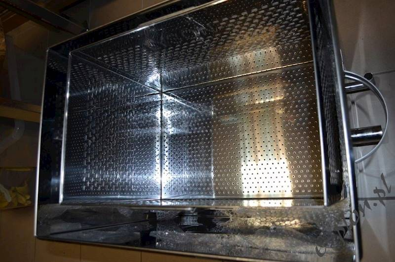 Urządzenie do wytopu wosku+palnik : W4076O /Łysoń/