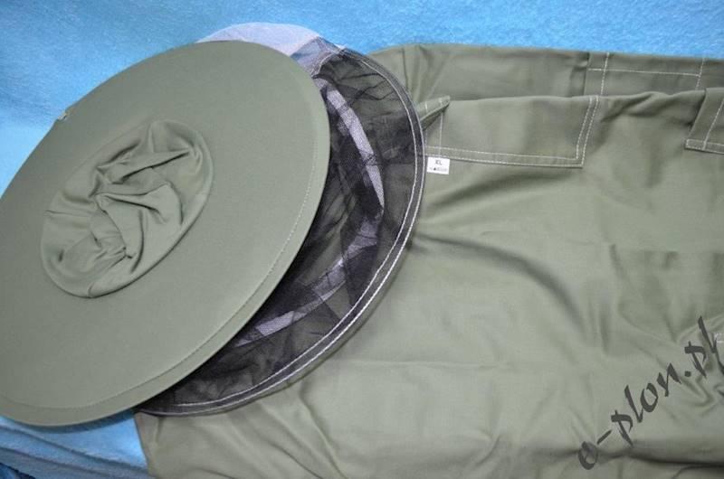 Bluza pszczelarska z kapeluszem /bez zamka/ - M