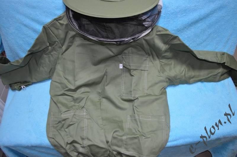 Bluza pszczelarska z kapeluszem /bez zamka/ - L